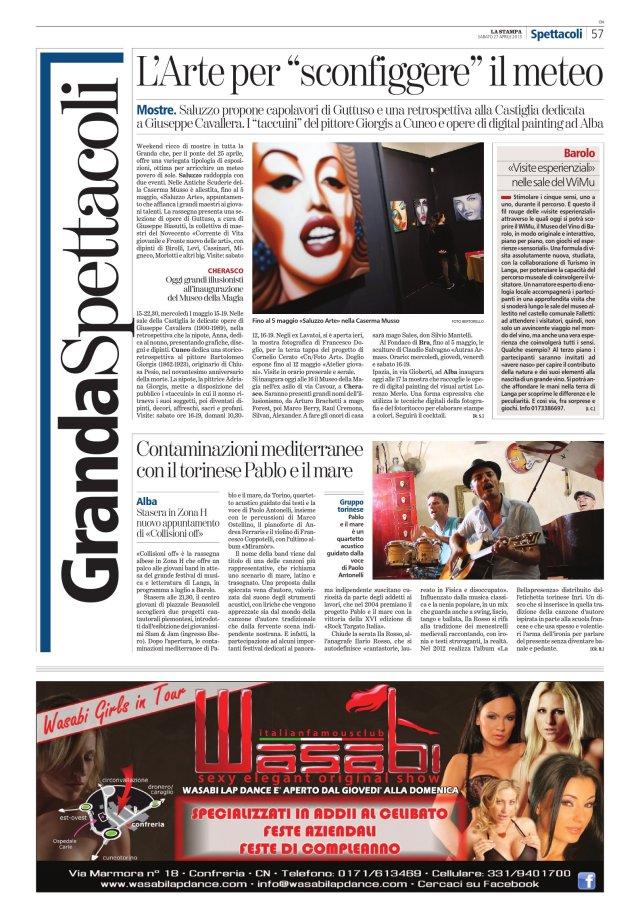 La Stampa 27_04_2013